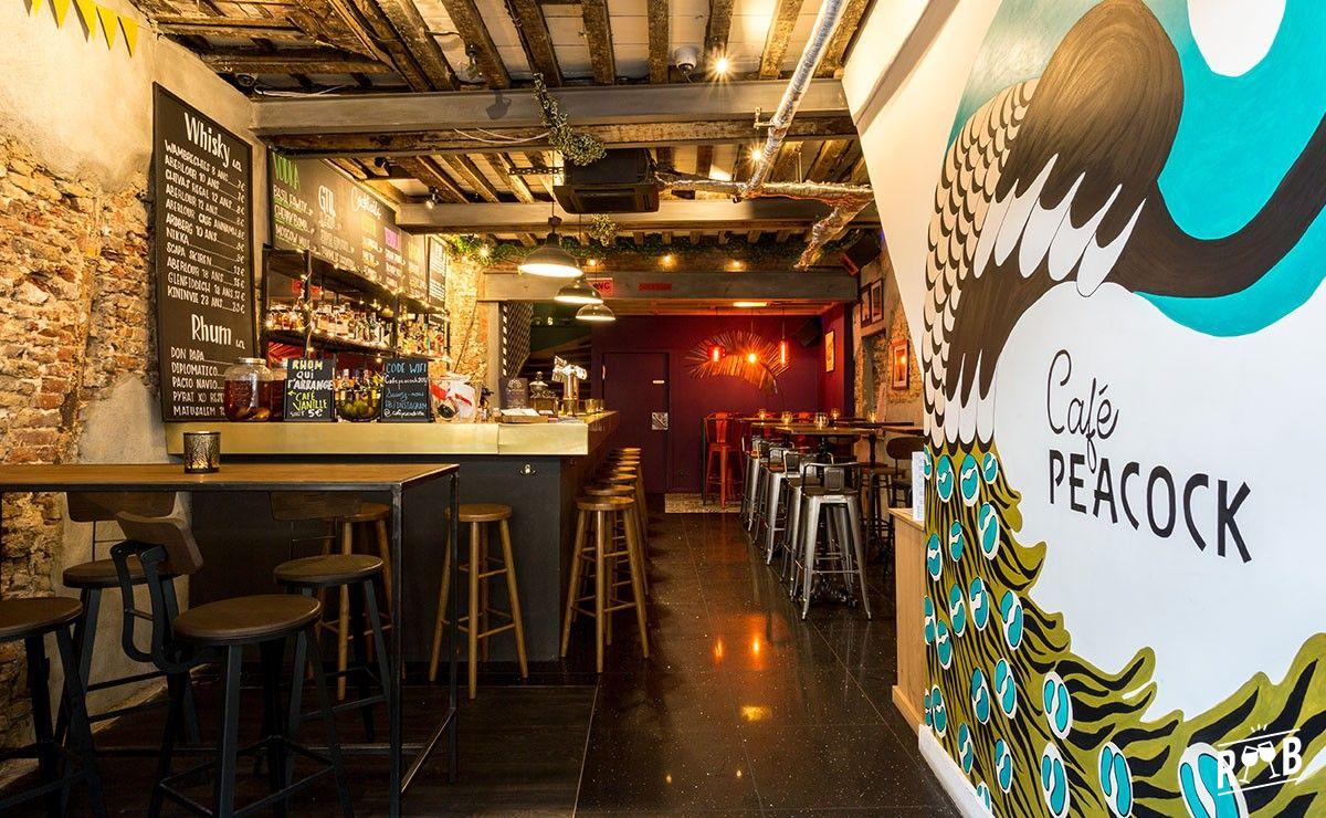 Café Peacock #3